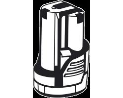 Аккумуляторная батарея Li-Ion, 12 В, 2 Ач, тип С1 АКБ-С1-12-2 ЗУБР серия «МАСТЕР»
