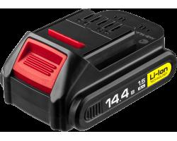 Аккумуляторная батарея Li-Ion, 14.4 В, M2 АКБ-14.4-Ли 15М2 ЗУБР серия «МАСТЕР»