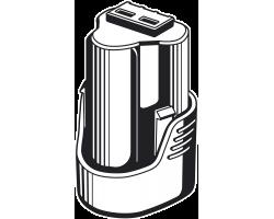 Аккумуляторная батарея Li-Ion, 12 В, 2 Ач, тип T7 ST7-12-2 ЗУБР серия «ПРОФЕССИОНАЛ»