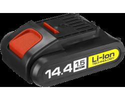 Аккумуляторная батарея Li-Ion, 14.4 В, M1 АКБ-14.4-Ли 15М1 ЗУБР серия «МАСТЕР»