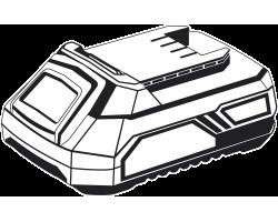 Аккумуляторная батарея Li-Ion, 14.4 В, 2 Ач, тип С1 АКБ-С1-14-2 ЗУБР серия «МАСТЕР»