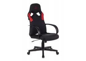 Кресло игровое Бюрократ ZOMBIE RUNNER черный/красный текстиль/эко.кожа крестовина пластик