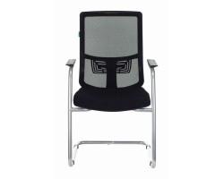 Кресло Бюрократ MC-619N/B/26-B01 на полозьях черный TW-01 сиденье черный 26-B01