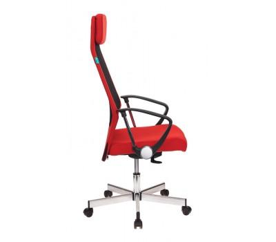 Кресло руководителя Бюрократ T-995HOME/RED черный/красный TW-01 сетка/ткань крестовина металл