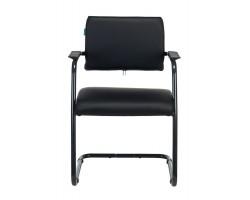 Кресло Бюрократ CH-271N-V черный Leather Black искусственная кожа полозья металл черный