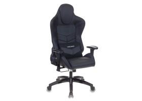 Кресло игровое Бюрократ CH-773N две подушки черный искусственная кожа
