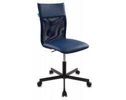 Кресло Бюрократ CH-1399 синий Or-15 искусст.кожа/сетка крестовина металл