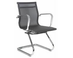 Кресло Бюрократ CH-993-Low-V черный M01 сетка низк.спин. полозья металл хром