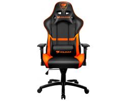 Кресло компьютерное игровое Cougar ARMOR Black-Orange [3MGC1NXB.0001]