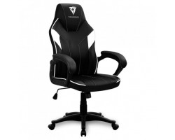 Кресло компьютерное игровое ThunderX3 EC1 Black-White AIR