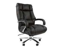 Кресло для руководителя CHAIRMAN 405, черная кожа