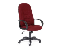 Кресло  офисное CHAIRMAN 727 бордовое ткань