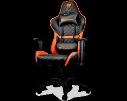 Кресло компьютерное игровое Cougar ARMOR One Black-Orange