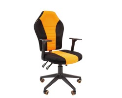 Кресло  CHAIRMAN Game 8, черно/оранжевое