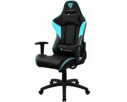 Кресло компьютерное игровое ThunderX3 EC3 Black-Cyan AIR