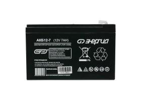 Аккумулятор Энергия АКБ 12–7